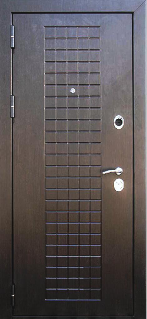 Входная дверь Кондор Реал внешняя сторона в цвете Венге