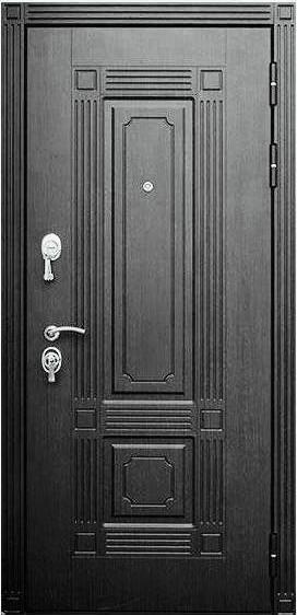 Входная дверь Булат Форте Зеркало наружная сторона