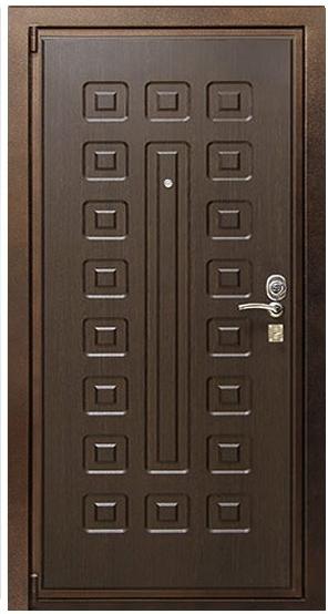 Входная дверь Булат М+5 наружная отделка