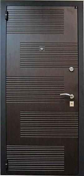 Входная металлическая дверь Футура 003 наружная отделка