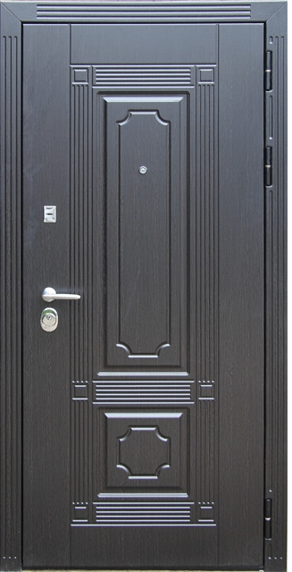 Входная металлическая дверь Кондор Мадрид наружная сторона