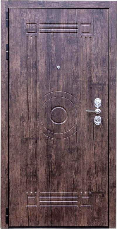 Входная дверь Зенит 8 Монолит наружная отделка
