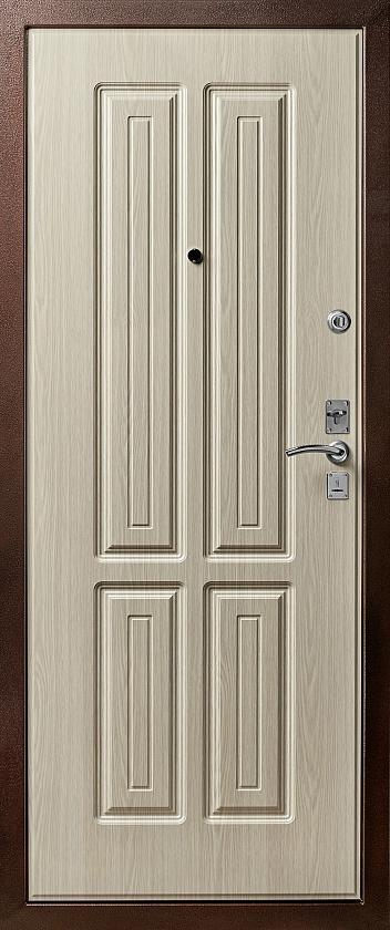 Входная дверь Булат М+5 внутренняя отделка
