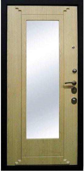 Входная дверь Булат Скала внутренняя отделка беленый дуб