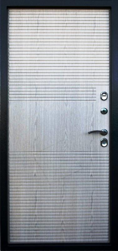 Входная дверь Гарда Изотерма внутренняя сторона в цвете Беленый дуб