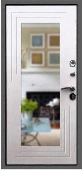 Входная дверь Гарда S7 внутренняя сторона с зеркалом