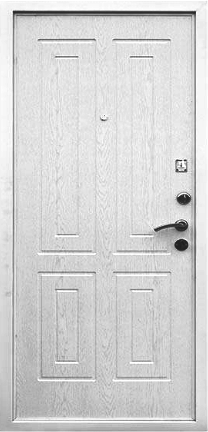 Входная дверь Кондор Х2 внутренняя сторона Беленый дуб
