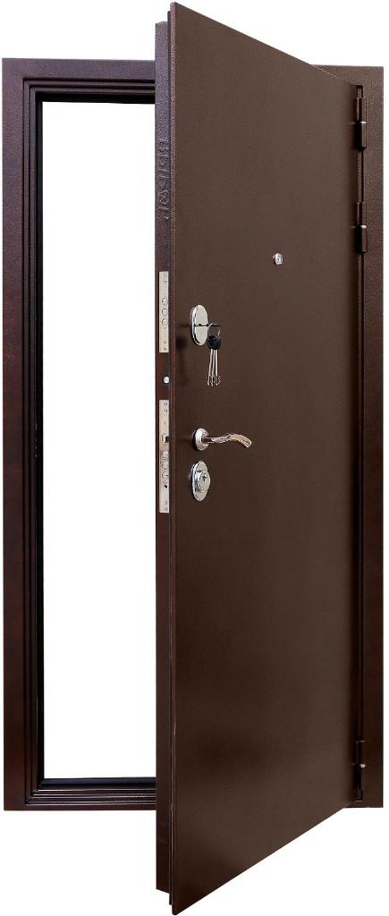 Входная металлическая дверь Зенит-Дача в раскрытом виде