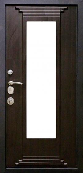Входная дверь Булат Скала внутренняя отделка венге