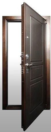 Входная дверь Гарда С5 в открытом виде
