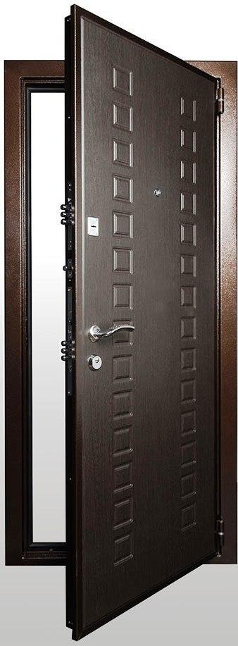Входная дверь Гранит М2 люкс в открытом виде