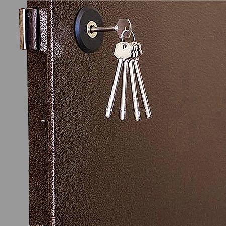 Замок Барьер с ключами