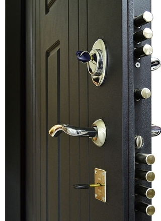 Замки на входной двери Гранит Т3М