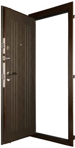 Замки и внутренняя отделка на входной двери Гранит М2 люкс