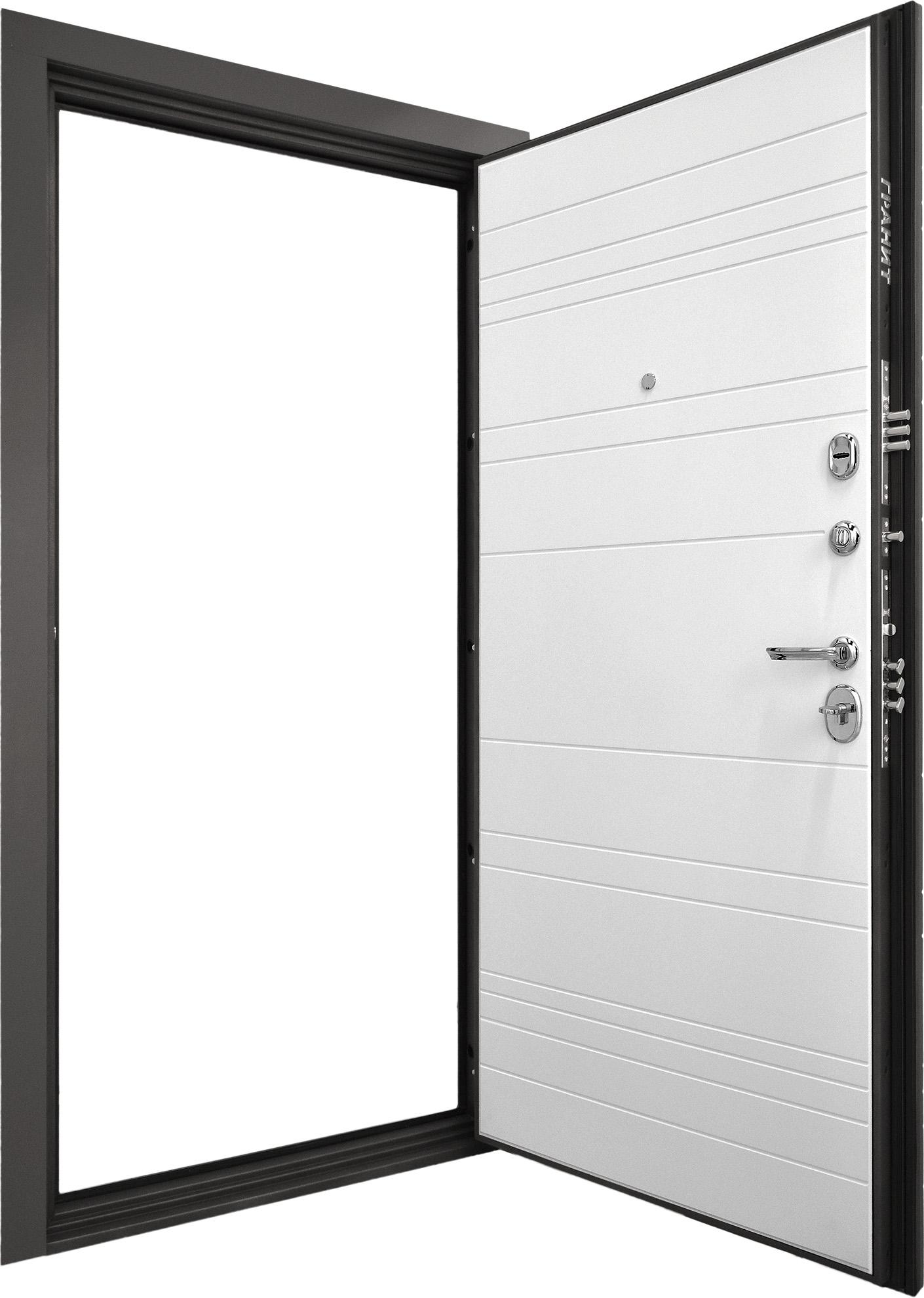 Входная дверь Гранит С9 вид изнутри