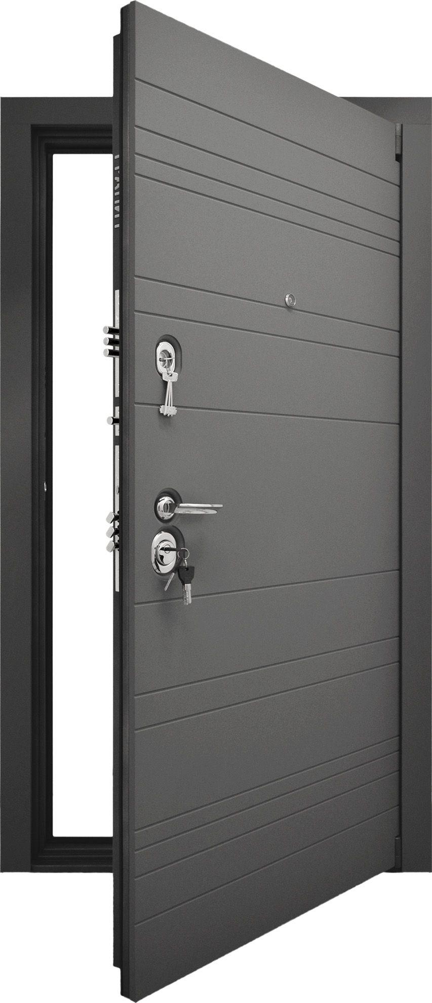 Входная дверь Гранит С9 вид снаружи