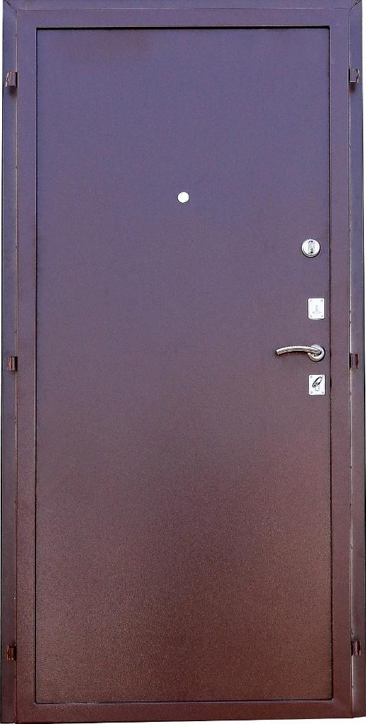 Входная металлическая дверь Зенит-Дача внутренняя отделка