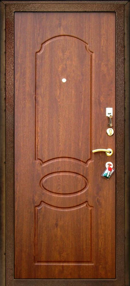 Входная дверь Булат 7 внутренняя отделка