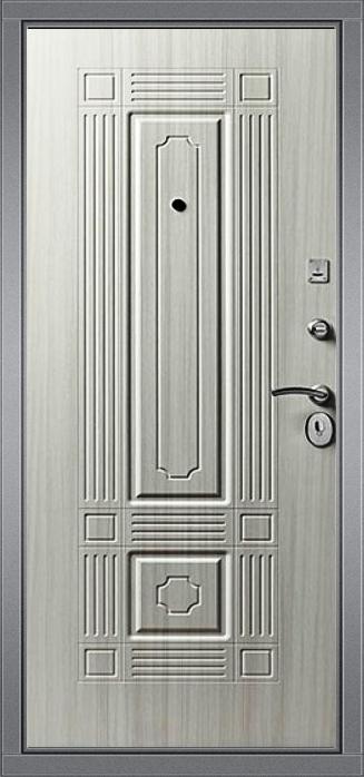 Входная дверь Гарда S11 внутренняя сторона Беленый дуб