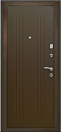 Входная дверь Гранит М2 люкс внутренняя отделка