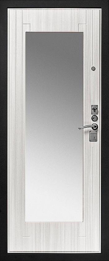 Входная дверь с зеркалом Гранит Т3М внутренняя сторона