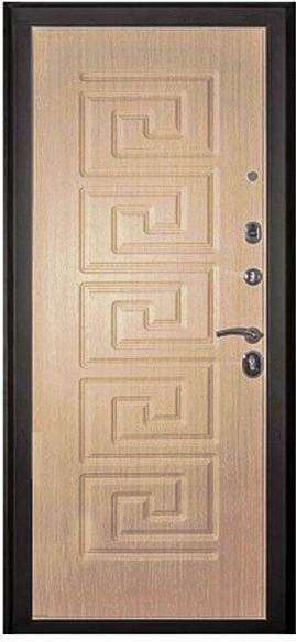 Входная дверь Кондор Греция внутренняя отделка беленый дуб