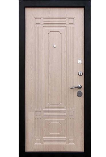 Входная дверь Кондор Мадрид внутренняя сторона беленый дуб