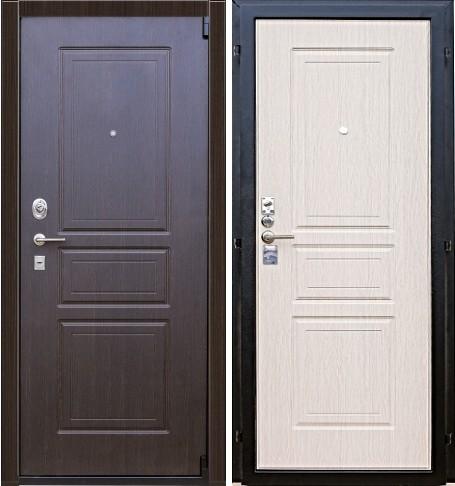 Входная дверь Гарда С4 наружная и внутренняя стороны