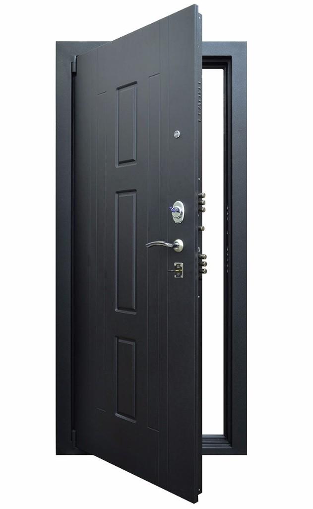 Входная дверь Гранит Т3М в открытом виде