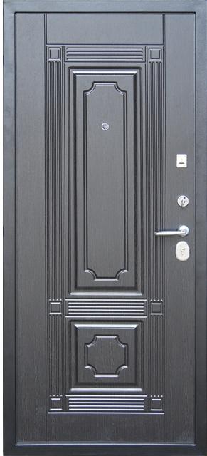 Входная металлическая дверь Кондор Мадрид внутренняя сторона венге