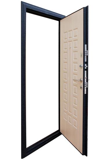 Дверь Зенит 3 в раскрытом виде
