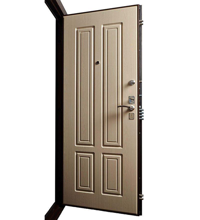 Входная дверь Булат М+5 в открытом виде