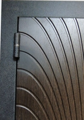 Наружная панель МДФ на входной двери Футура-002