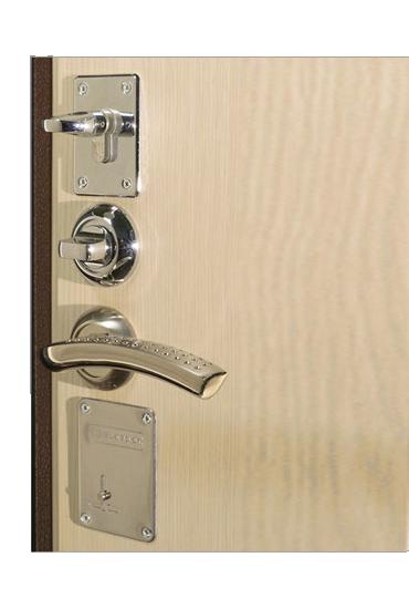 Замки и задвижка на двери Кондор М3 Люкс
