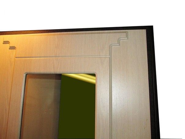 Зеркало на двери Булат Скала