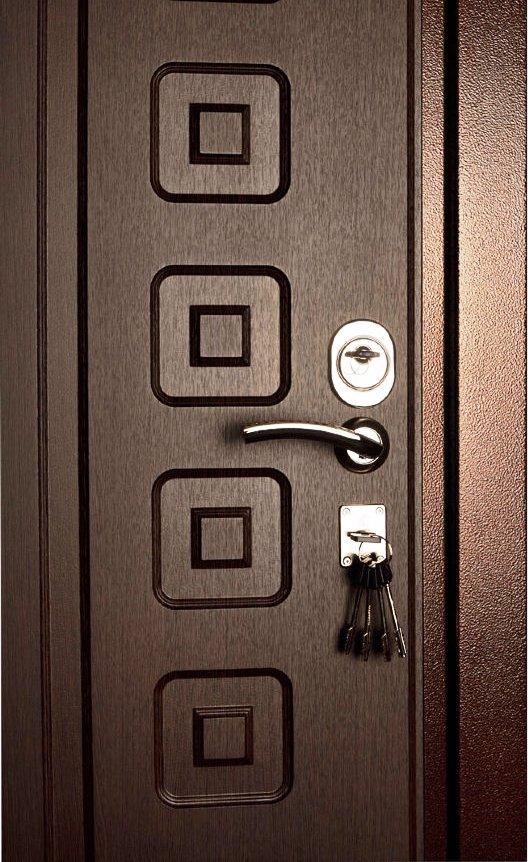 Рисунок на входной двери Булат М+5