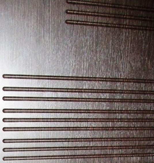 Панель МДФ венге на входной двери Футура 003