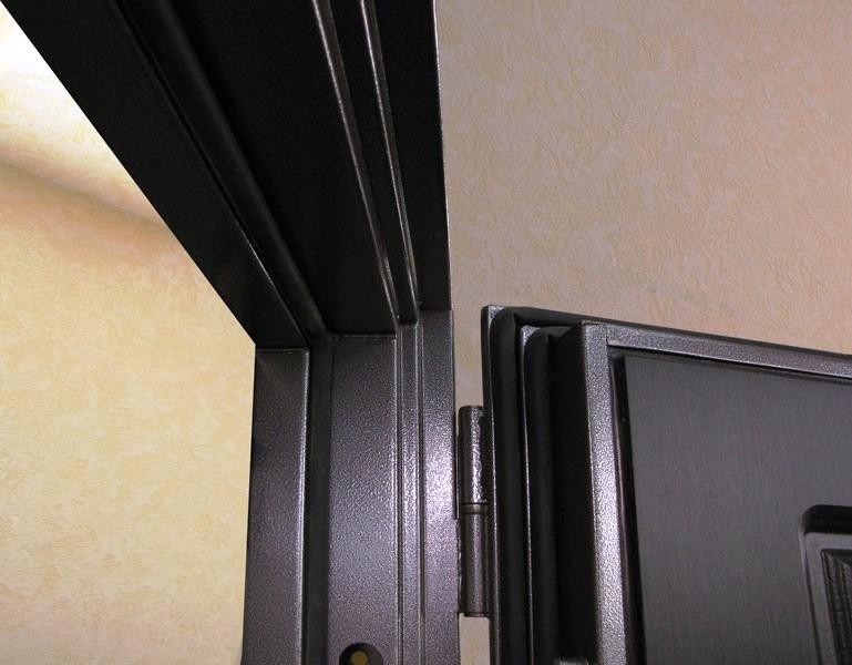 Петли Барк на входной двери Гарда С4